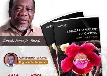 """Lançamento do livro """"A Magia do Perfume na Cacimba"""", de Gonçalo Ferrão Jr."""