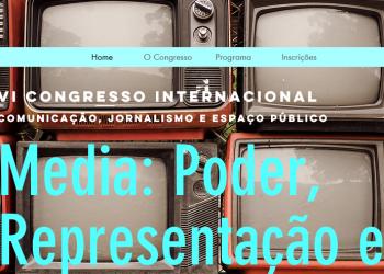 VI Congresso internacional Comunicação, Jornalismo e espaço público